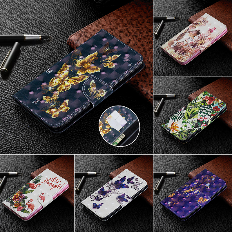 3D Luxury Case For <font><b>Xiaomi</b></font> Mi F1 <font><b>Redmi</b></font> <font><b>Note</b></font> 5 6 <font><b>7</b></font> <font><b>Pro</b></font> <font><b>7</b></font> 6 6A 6 <font><b>Pro</b></font> 5 Plus Leather Flip Wallet Card Holder Stand Phone Bag Cover image