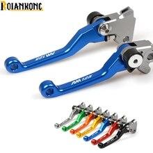 Logo RM125 Motorbike Dirt bike Pivot brake clutch lever  For SUZUKI RM125/250 96-08  RM125  RM250  RM 125 front rear brake pads for suzuki rm 125 250 rm125 rm250 dr z 400 drz400 dr 650 kawasaki kx125 kx250 for honda xr400 xr400r xr440