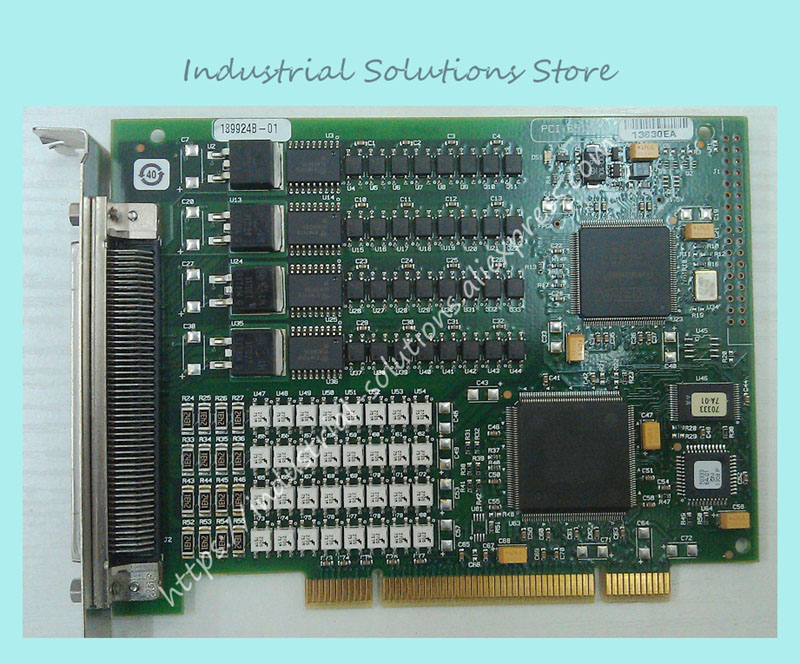 Original PCI-6515 communication channel teardown DAQ data card 100% tested perfect qualityOriginal PCI-6515 communication channel teardown DAQ data card 100% tested perfect quality
