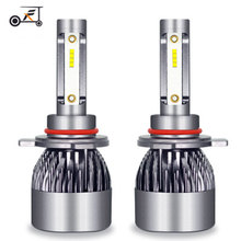 Fuxuan 2Pcs H7 LED H4 H11 Car Light Canbus Headlight Bulb 3200LM H3 H1  9005 9006 9012 36W 6000K 12V 24V Auto Led