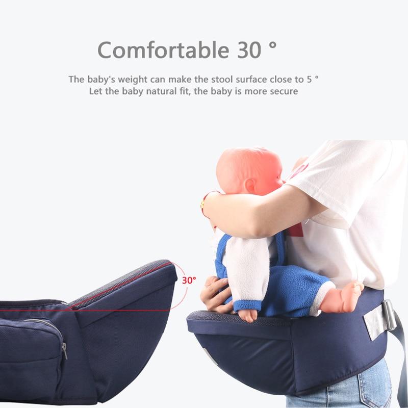 Medoboo Ergonomic Baby Carrier Waist Stool Newborn Hipseat Baby Sitter Backpack Wrap Sling Baby Infant Waist Belt Adjustable in Backpacks Carriers from Mother Kids