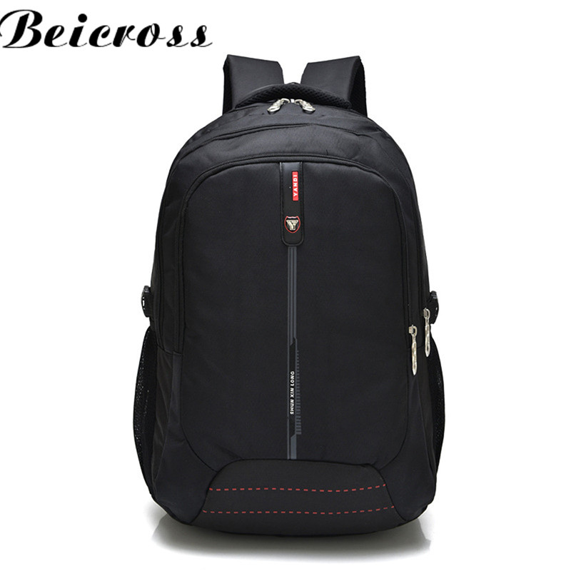 Brand New Nylon Korean version Tide Young Pople s High Schoolbag Large Capacity Backpack Waterproof Backpack