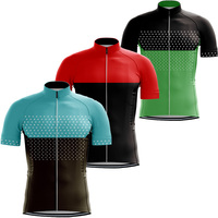 Jersey RUNCHITA PRO Summer short sleeve cycling jersey mtb jersey bike jersey Breathable Polyester ropa maillot ciclismo hombre