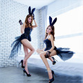 fashion bunny tuxedo club stage outfit sexy models uniform party dress sexy lingerie babydoll erotic lingerie sexy hot erotic