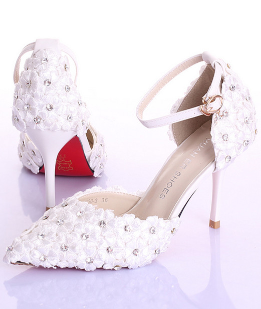 99d045155fe1 Pearls Wedding Shoes