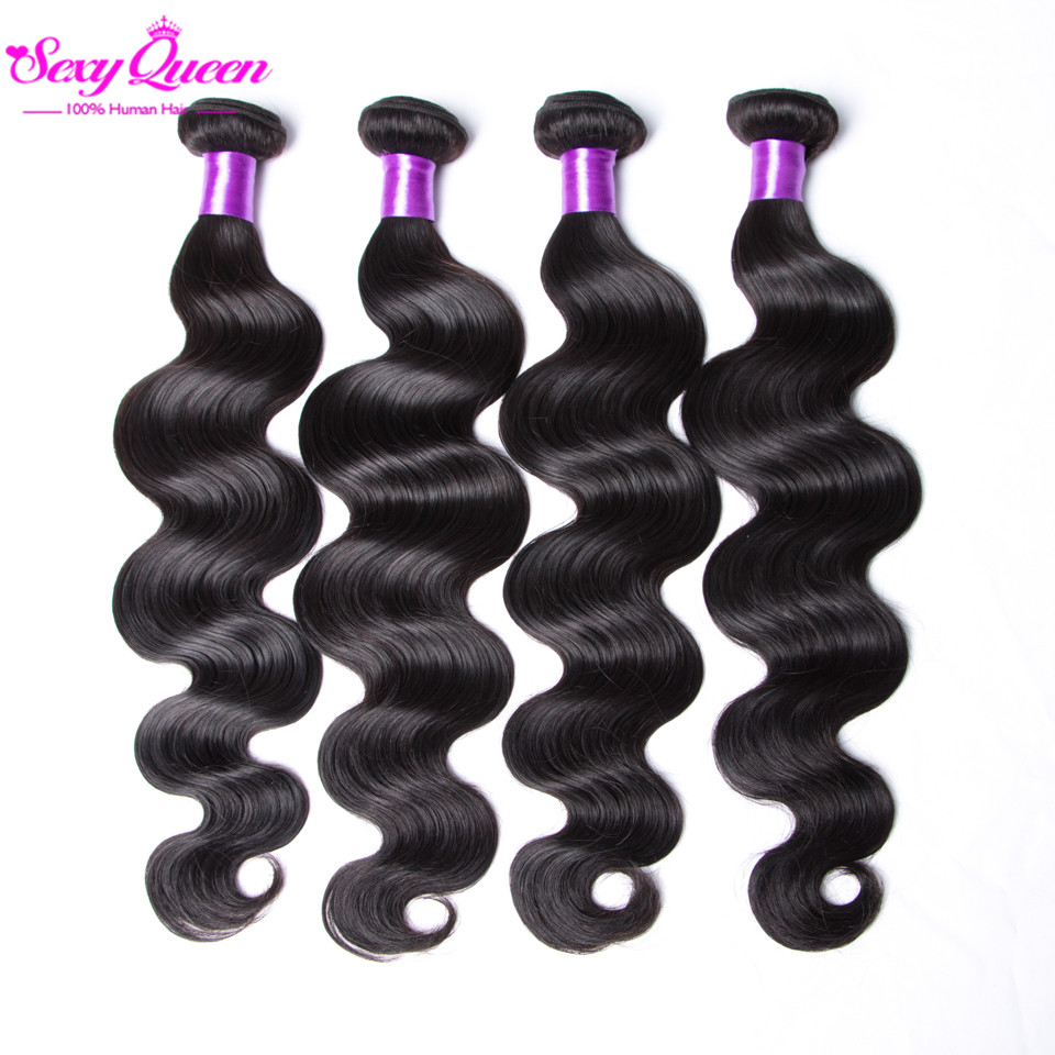 Straight hair perm products - 8a Brazilian Virgin Hair Body Wave 4 Bundles Rosa Hair Products Mink Brazilian Hair Weave Bundles Cheap Unprocessed Human Hair