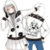 Anime Kantai Collection Hoodie Northern Habitat Kyi Hoody Custom Anime Cute Hoody Sweatshirts Coat Brand Autumn