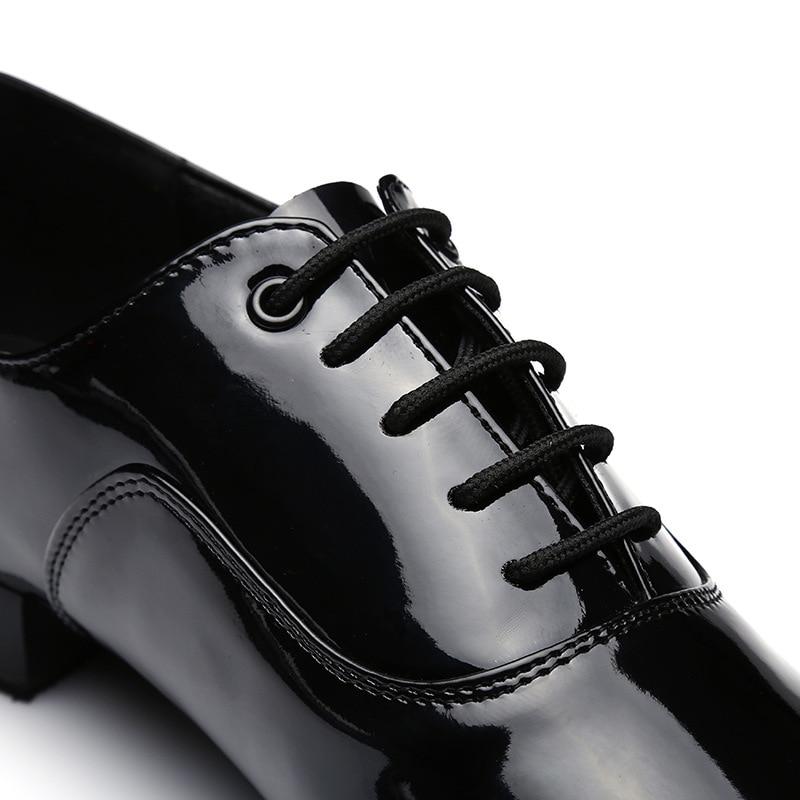 Image 3 - Big Size 38 45 Dance Shoes Men Modern Ballroom Low Heel Tango Latin Dancing Shoes Jazz Dance Practice Sneakers-in Dance shoes from Sports & Entertainment