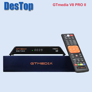 Satellite-Receiver Biss-Key IPTV Powervu Gtmedia V8 H.265 Pro2 Built-In-Wifi-Support