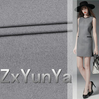 2017 New 148cm Wide Wool Fabric Quality Light Gray Flange Material Thin Section Wool Suit Dress