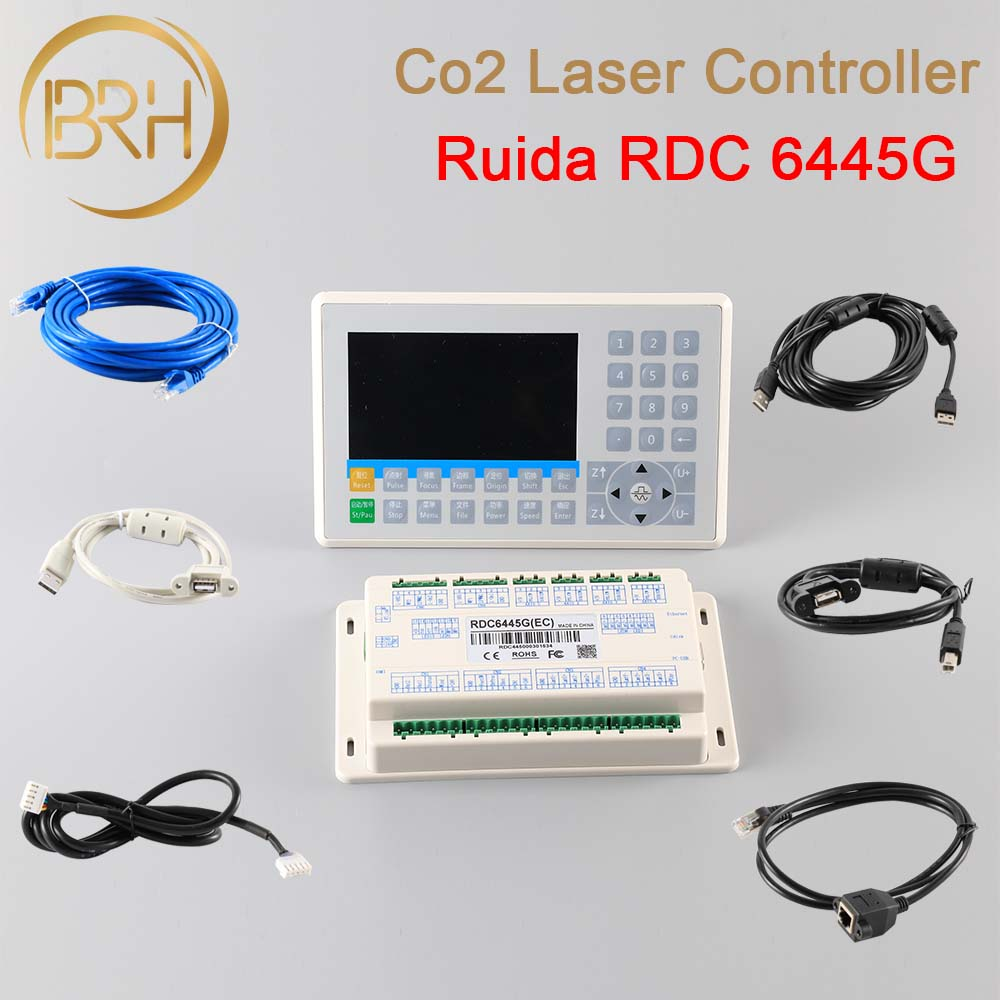 Ruida RDC6445 RDC6445G Laser Machine Controller For CO2 Laser Engraving Cutting Machine Upgrade RDC6442/RDC6442G NEWCARVE-in Woodworking Machinery Parts from Tools    1