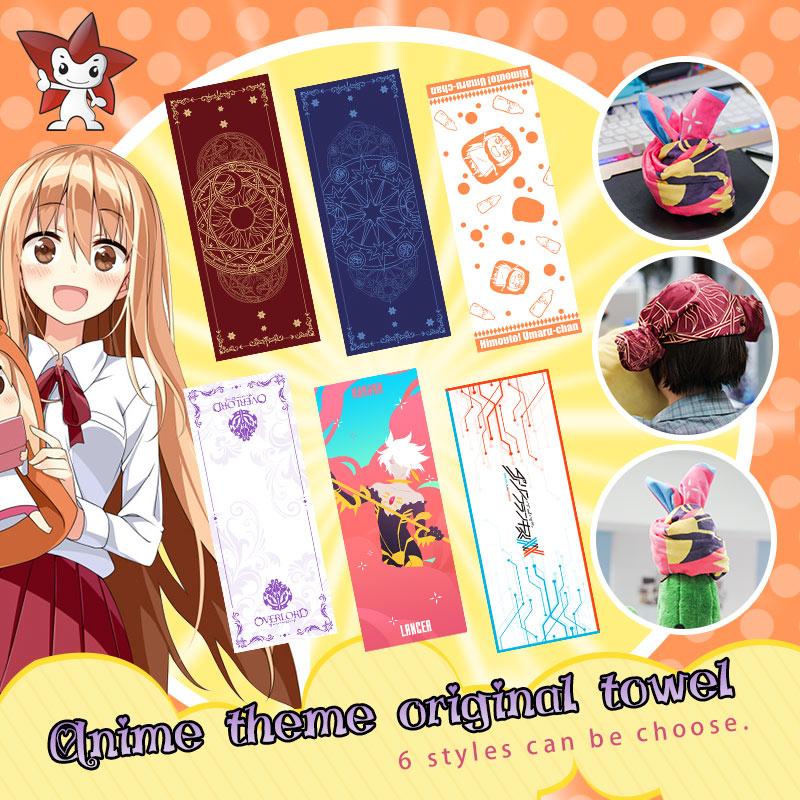 Milky Way Anime Card Captor Sakura Face Towel Overload DARLING in the FRANXX Doma Umaru Anime bath towel face towel Karuna