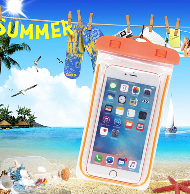 100% authentic d487a d2c59 US $4.74 5% OFF|Waterproof Swimming Mobile Phone Cases Touch Screen For HTC  Desire 10 Pro 825 530 728 828 630,One M10/X9 E9S,VKworld G1 Giant-in Phone  ...