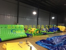 Inflatable amusement park swimming pools used games water obstacle course