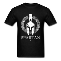 Spartan T Shirt Custom Short Sleeve T Shirt Men Hip Hop Car Styling Big Size Cotton