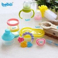 Baby Feeding Supplies Infant Feeder Set With Gift Box Milk Bottle for Newborn Gift