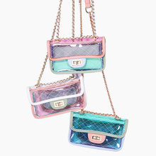 2019 Fashion Transparent Jelly Package Crossbody Cute Waterproof Convenient Messenger Shoulder Bag For Female Hand Bags