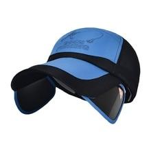 Cool Summer Hats Outdoor Running Caps Visor Sunscreen Baseball Hat Quick-drying Breathable Mesh Casual Sports Cap