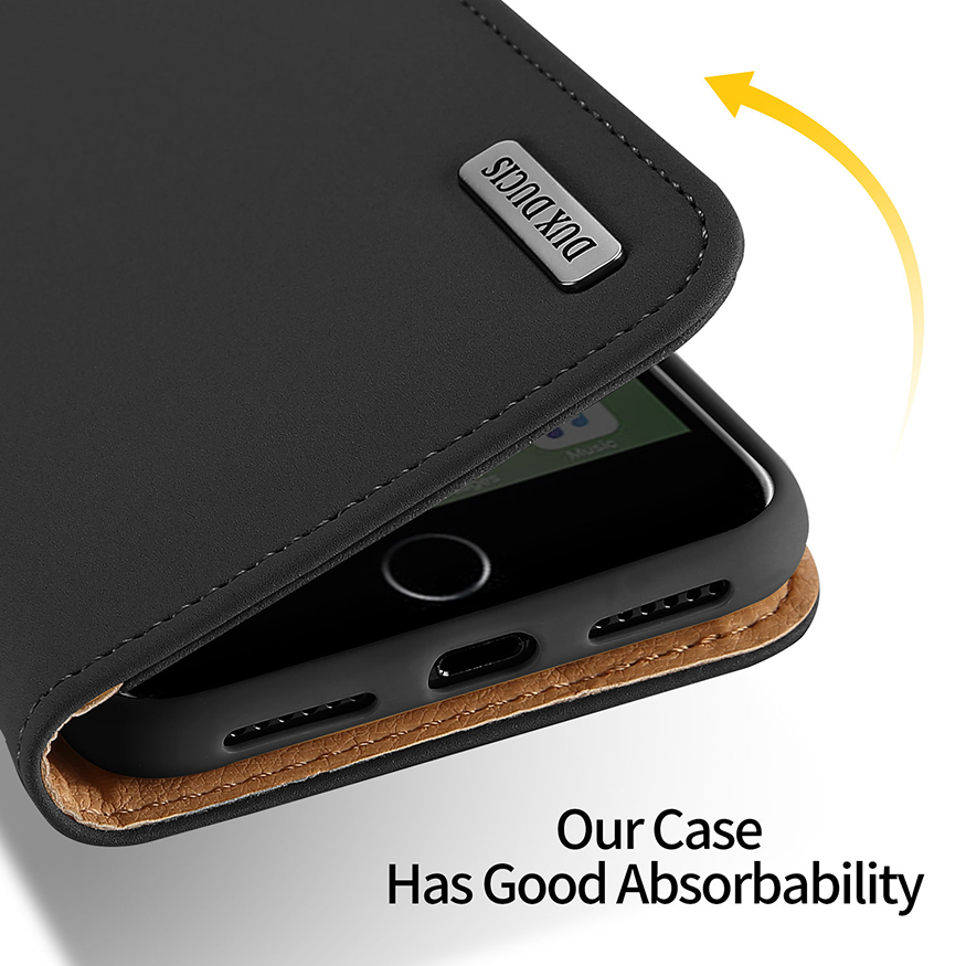 Image 4 - DUX DUCIS Чехол кошелек из натуральной кожи для iPhone 8 7 Xs винтажный Магнитный флип чехол для iPhone Xs Max XR X 7 8 6s 6 Plus Coque-in Чехлы-портмоне from Мобильные телефоны и телекоммуникации