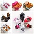 100 par/lote Princesa Recién Nacido Niño Mary Jane Zapatos de Bebé Primeros Caminante Infantil Zapatos de Tacón Alto Calza El Envío de Manera Expresa