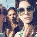 2017 Последним Высокое Качество Солнцезащитные Очки Женщины Фирменное Designer Vintage Солнцезащитные очки New Мода Очки Cat Eye Женщины Gafas Óculos