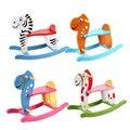 Troyano mecedora de madera caballo de juguete bebé cabrito de los niños recuerdos Trolltech juguetes educativos niño seguridad