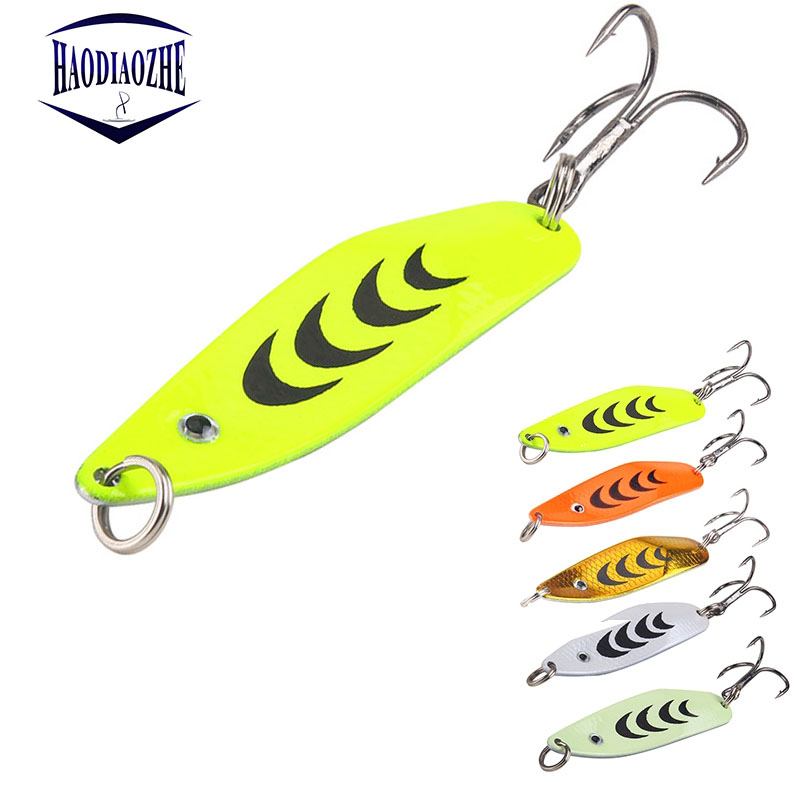 Metal Sequins Fishing Lures 5cm 6.7g Luminou Hard Bait Spinner Spoon Baits Isca Artificial Wobblers Pesca Peche Fishing Tackle