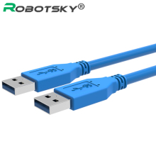 0.3m 0.5m 1m USB 3.0 Cable Male To Male USB Extension Cable Super Speed USB 3.0 Extender Data Cabo Cord For Hard Disk Cameras PC