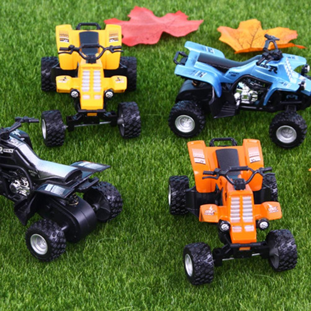 Mini <font><b>Diecast</b></font> Beach Motorcycle Model Shockproof Inertial Sliding Car Kids Toy Gift for kids babys image