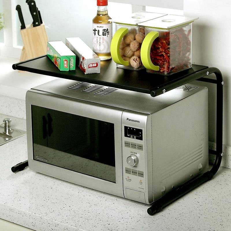 Kitchen Shelf Above Cooker: Continental Iron Kitchen Shelf Microwave Oven Shelf