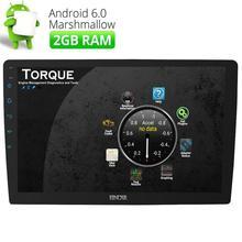 """10.1 """"quad-core Android 6.0 doble 2Din coche estéreo no DVD GPS Navi OBD2 WiFi 4G"""