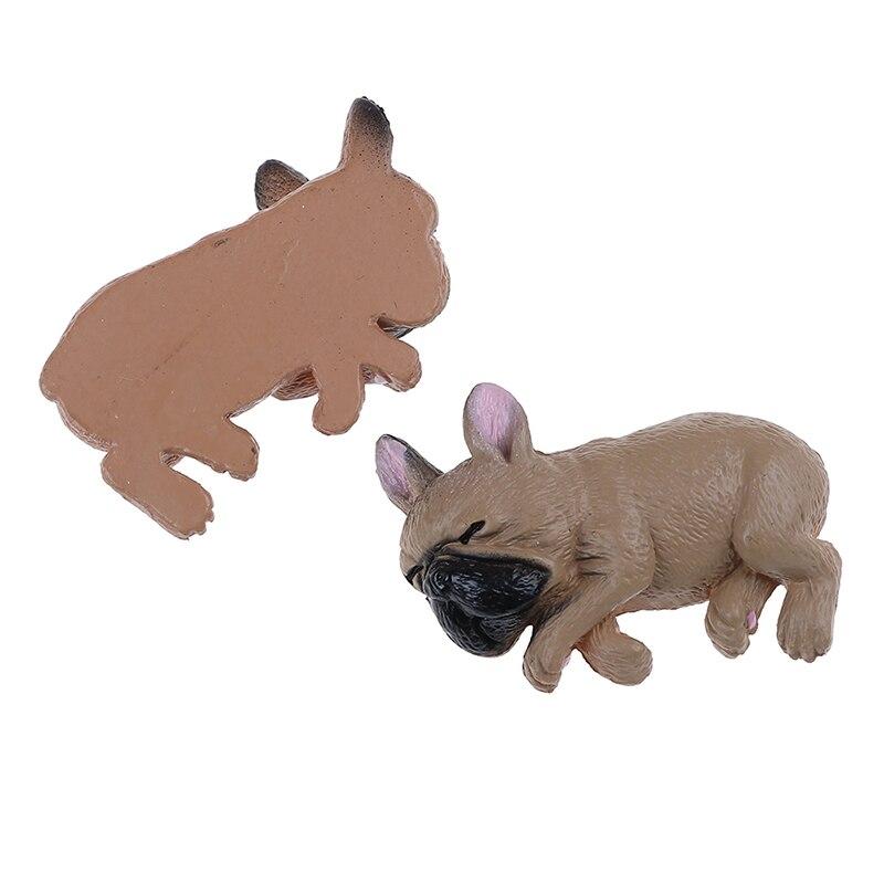 French bulldog sleepy corgis dog toys action figures pvc model toy dollkidgp`US