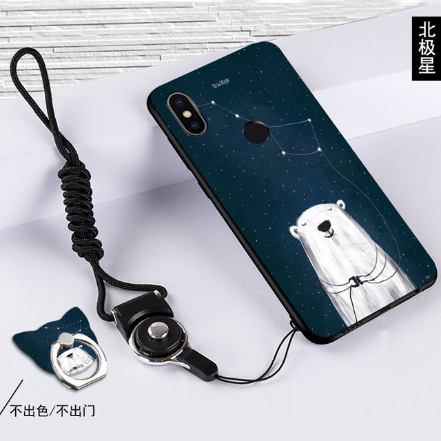 Newest for Xiaomi Redmi Note 5 Phone Cases, Cute Cartoon Painting Soft Silicon Cover Case redmi note pro 5.99\