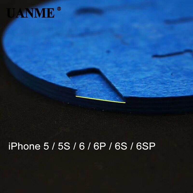 Купить с кэшбэком UANME Copper Double Head Handle IC Chip CPU Remover with Blade For Phone Logic Board Repair Tool and Fingerprint Repair station
