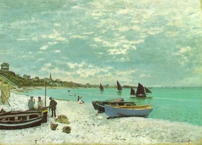 100% Hand Painted seascape Oil Painting on canvas Monet art painting reproduction