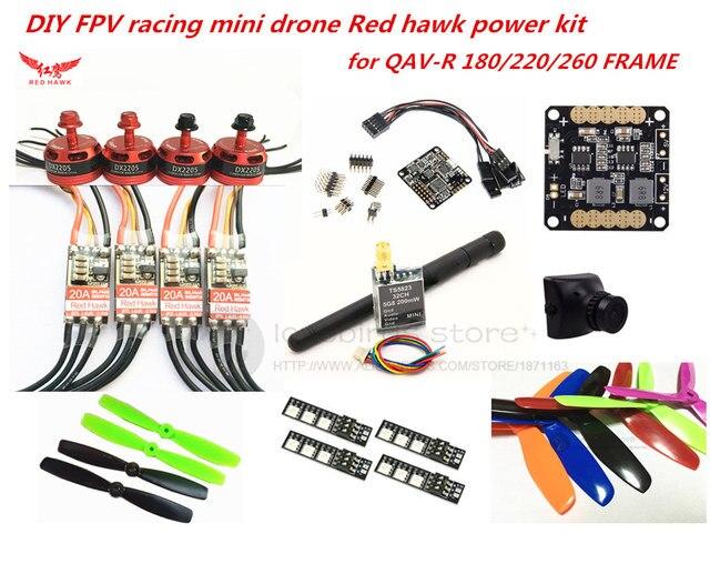 diy fpv racing mini drone red hawk dx2205 power kit red hawk 20a esc rh aliexpress com