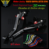 3D Rhombus Hollow design For Kawasaki Z800/E version Z 800 2013 2016 2014 2015 CNC Adjustable Motorcycle Brake Clutch Levers
