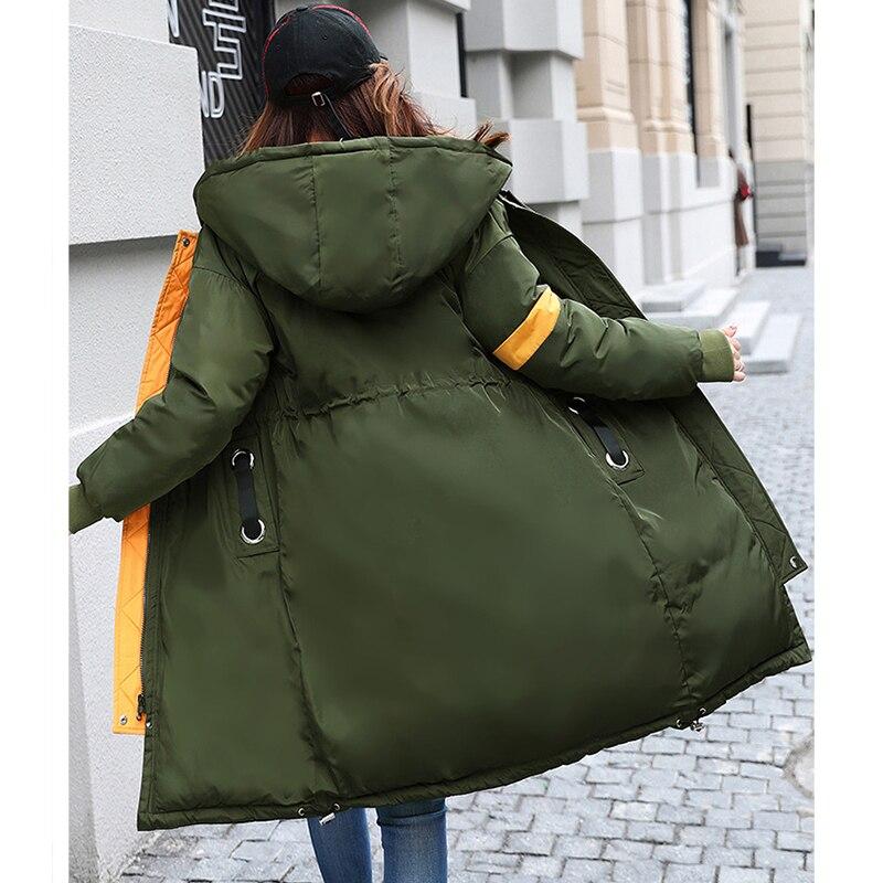 army Manteaux navy Manteau Côtés Parka 2017 Green D'hiver Femme Imperméable Mince Femmes Hiver Chaud Mode Veste Deux Épais Gray deep Longue Nouvelle Black Wmwmnu fgw6qxH6