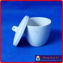 10 шт./лот) 50 мл высококачественный керамический тигель, 50 мл Coors фарфоровый тигель