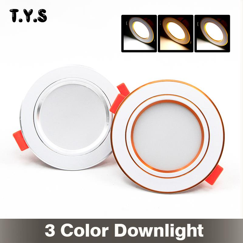 Alert 220v Led Downlight 6w Warm White Cold White Nature White Spot Light Led Ceiling Bathroom Livingroom Lamp High Quality Lights & Lighting