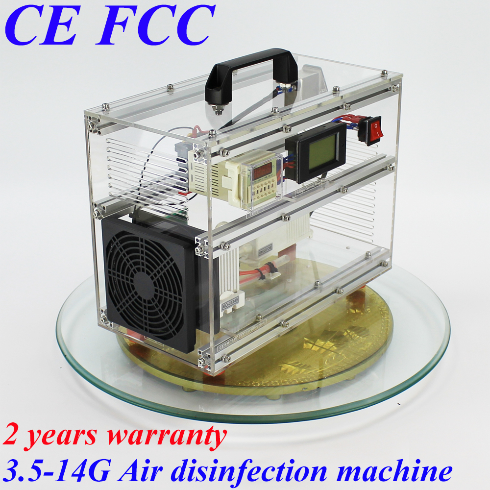 Pinuslongaeva CE EMC LVD FCC 7g/h A1 acrylic shell ozone machine Household multi-functional air sterilizer Air deodorization цена и фото