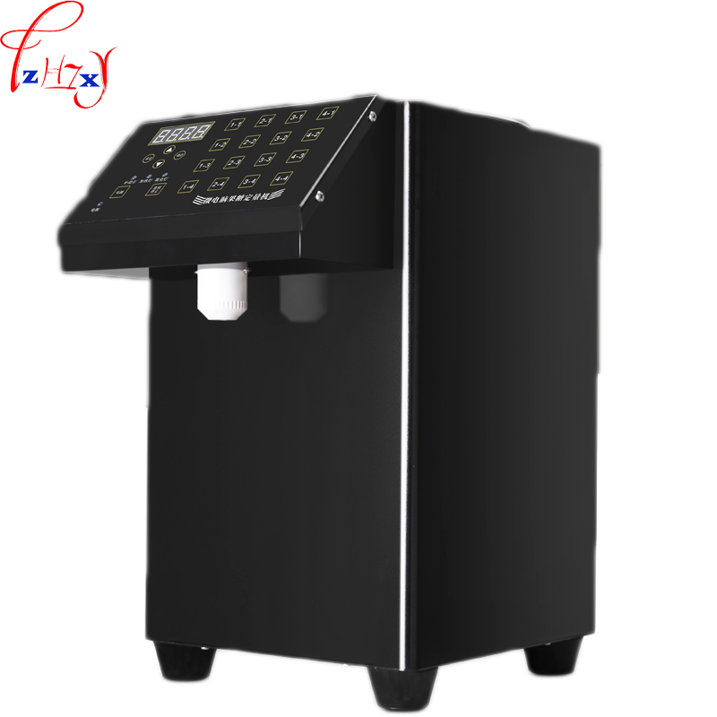 1pc 220V Commercial milk tea shop tea automatic candy machine 16 grid precision microcomputer fructose fronting machine