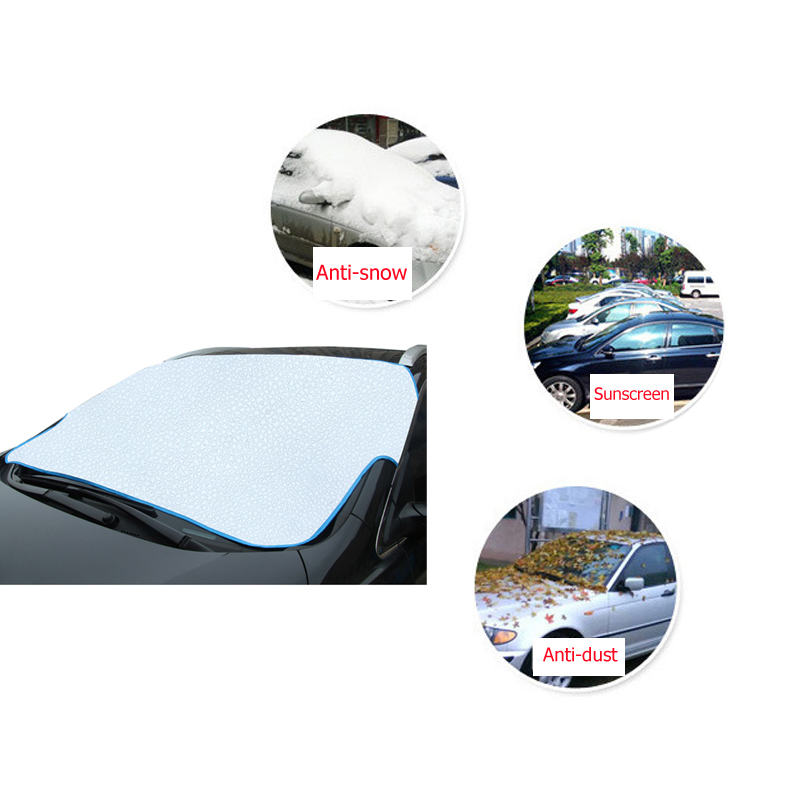 Universal Car Covers Window Snow Sunshade Cover Auto Windshield Sun Reflective Shade Snow Ice Dust Prevent|Car Covers| |  - title=