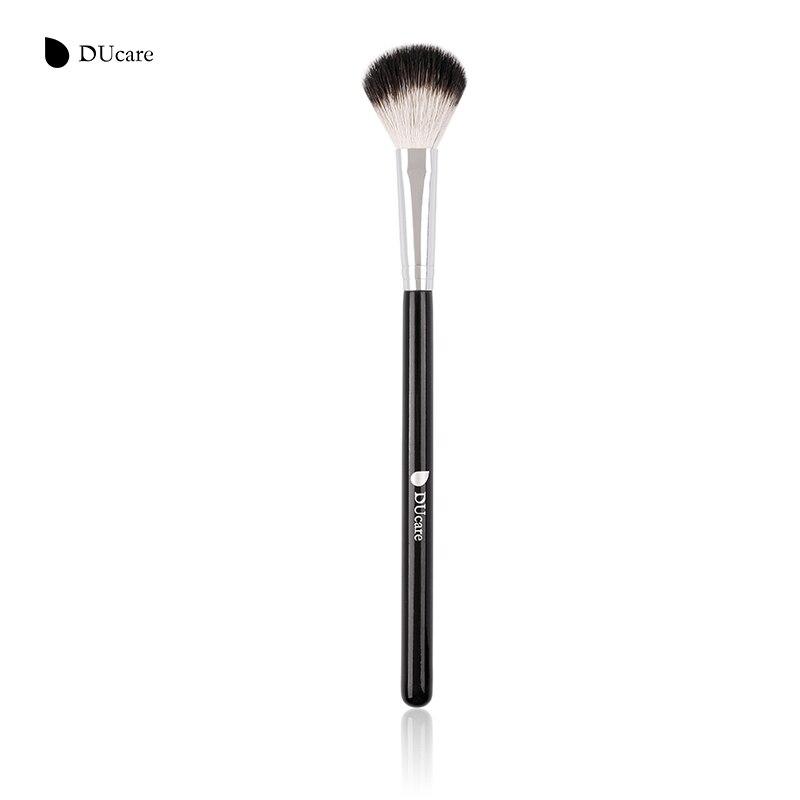 DUcare Large Diffuser Brushes for Makeup Soft Natural Bristles Makeup Brushes Pen Blending Uniform Blusher Highlighter