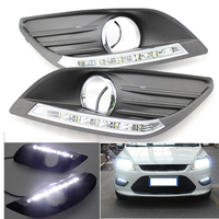 Brand New And High Quality LED Daytime Running Light DRL For Ford Focus Sedan 2009 2013