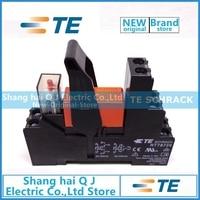 TE SCHRACK RT314024+RT78726+EM18 1CO 16A 24VDC relay Brand new and original