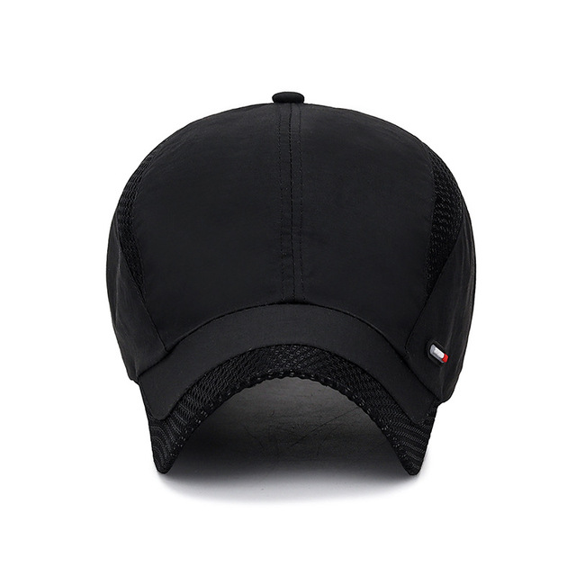 2020 Summer New Mens Outdoor Sport Sunscreen Baseball Hat Running Visor Cap Breathable Quick Dry Mesh Caps Gorras Chapeu 2