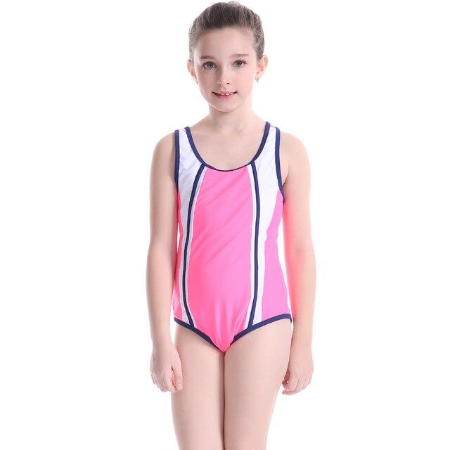 40afaf1d0cc5f Professional Children Swimwear Lovely Girl Rac Sport Swimsuit 2019 Kids One  Piece Swimwear Girls Bathing Suit Swim wear