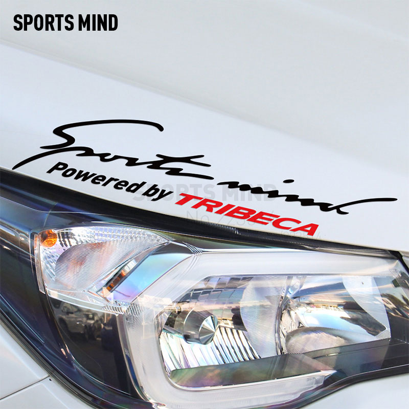 10 Pieces Sports Mind Car Covers Reflective Material Car Sticker Decal Car Styling For subaru tribeca exterior accessories
