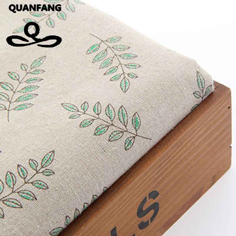 Zakka Cotton Linen Fabric For Handmade Hometextile Fabrics Cloth For Sofa Curtain Bags Cushion Furniture Cover Meter 50x155cm
